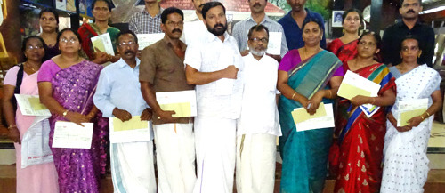 'Christmas Appeal' fund hand overs at Kollam