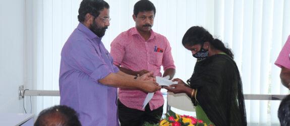 Christmas & New Year Appeal 2020 fund distribution at Thiruvananthapuram